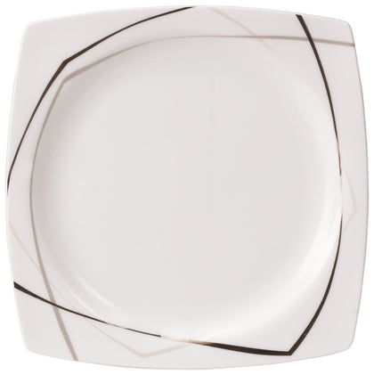 Royalford RF8394 Fine Bone Premium Dinner Set, 47pieces