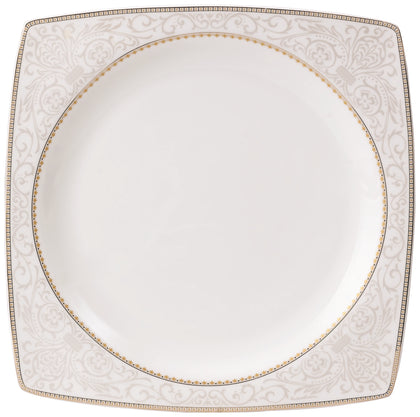 Royalford RF8395 Fine Bone Premium Dinner Set, 47pieces