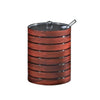 Royalford RF8224 CherryWood Acrylic Sugar Pot, 290 ML
