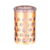 RoyalFord RF8231 Rose Gold Acrylic Canister, 910ml