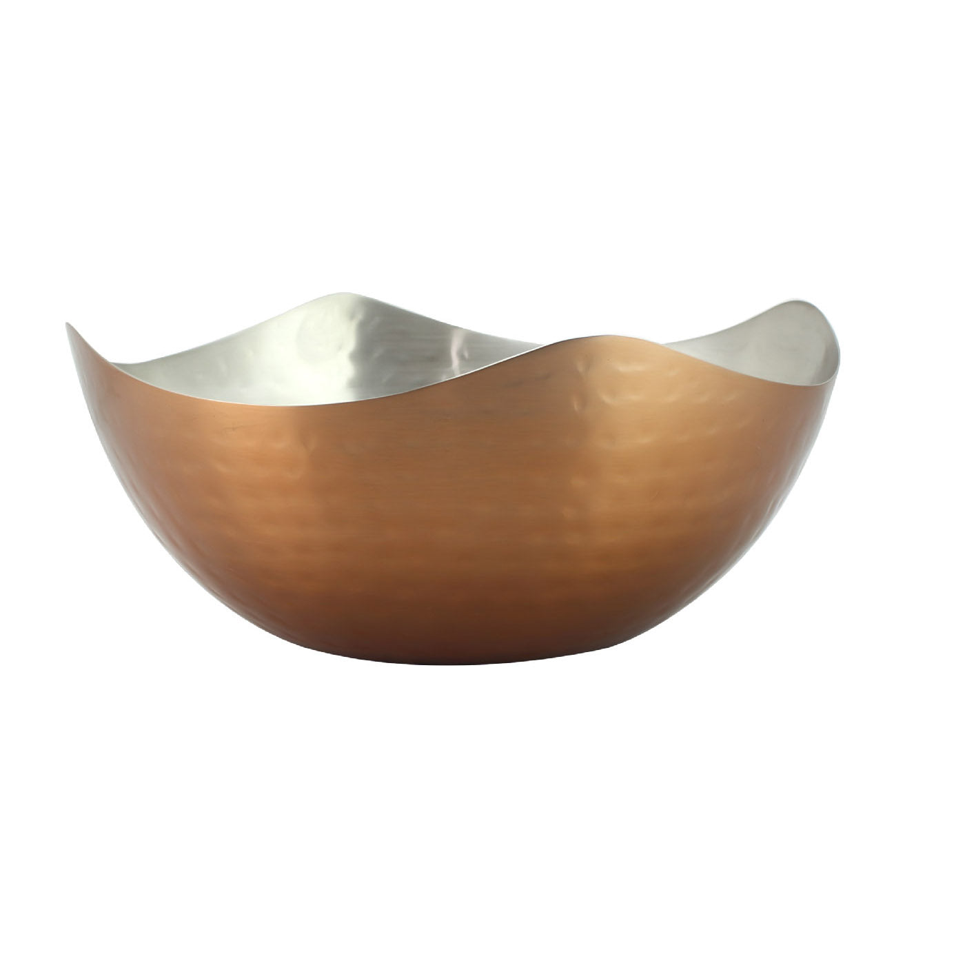 Royalford RF6939 Stainless Steel 4 Corner Lacquered Bowl, 19 CM