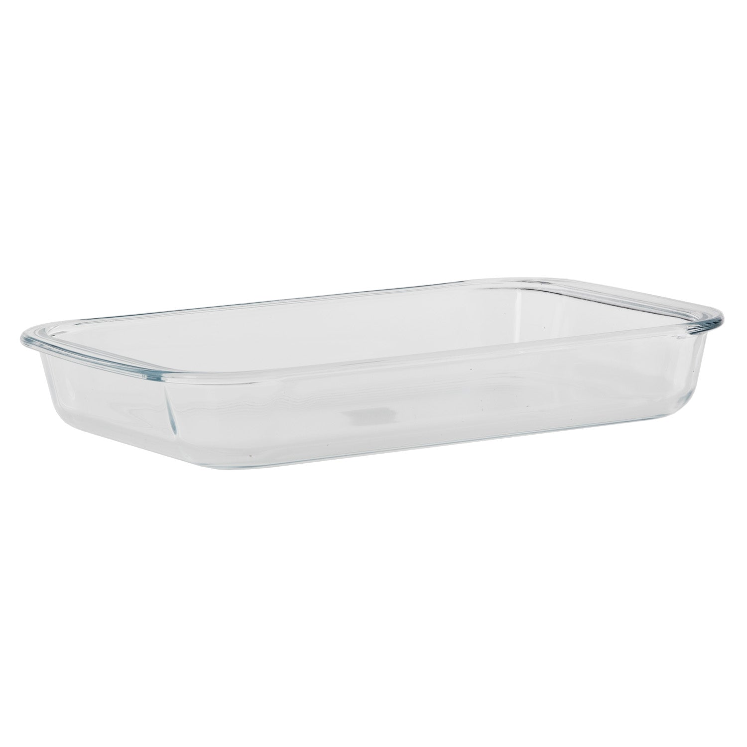 Royalford RF2696-GBD Borosilicate Glass Square Roaster, Casserole Baking Dish, Glass Oven Proof Cooking Dish, Oven Safe Bakeware