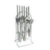 Royalford RF8893 Deluxe London Cutlery Set, 24-Piece, 15 Year Guarantee, Stainless Steel, Dinner Cutlery Utensil Set