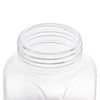 Royalford RF9006 2500 ML Air-proof Glass Jar –Square Shaped, Healthier Choice, Maximum Freshness and Dishwasher Safe -Food Storage Container with Lid, Airtight Sealed Glass Container – Durable and Transparent