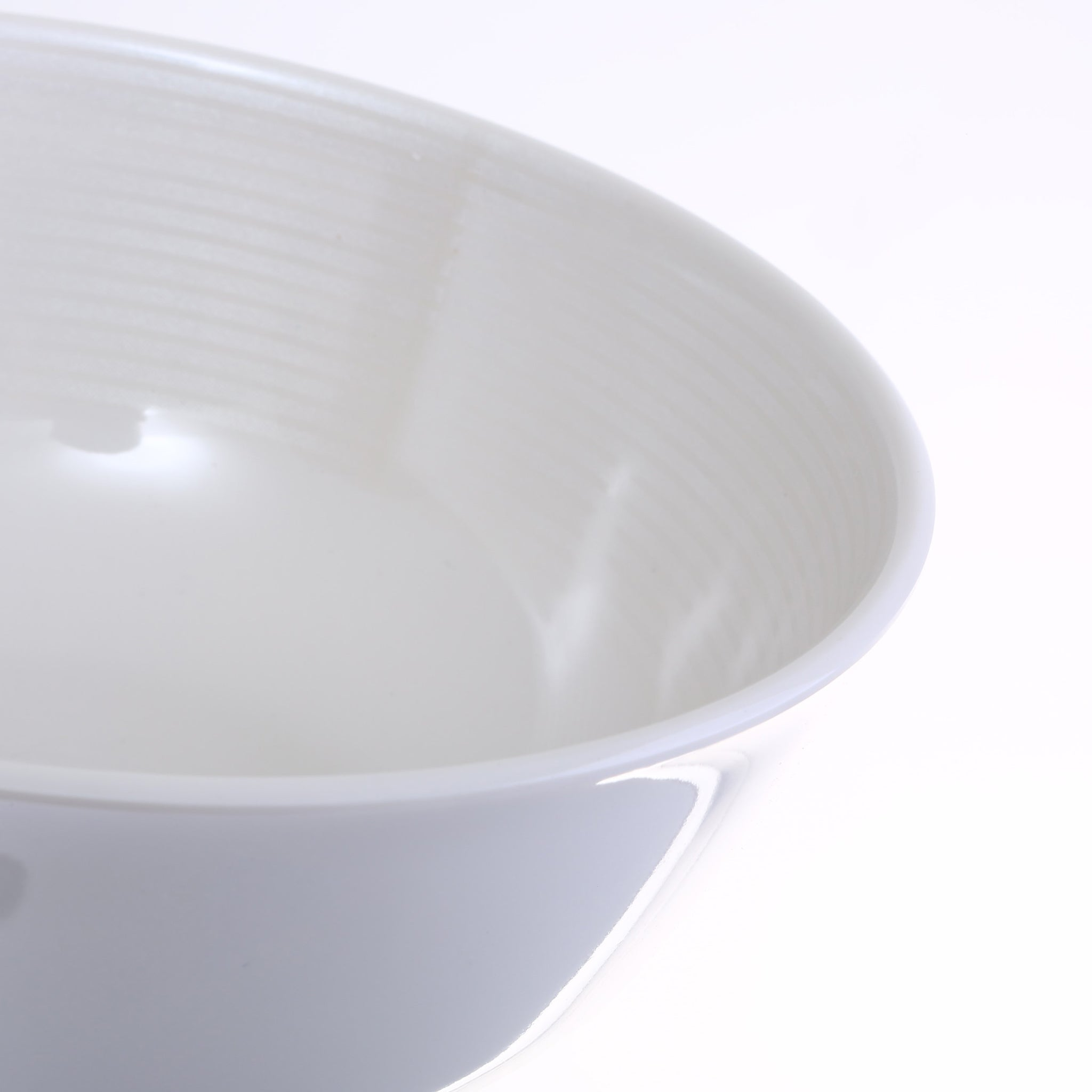 Royalford RF5846 3.5-inch Melamine Ware Bowl - Portable, Lightweight Breakfast Cereal Dessert Serving Bowl | Round with Smooth Edges| Ideal for Serving Curries, Gravies, Rice, Soups & More (Diamond White)