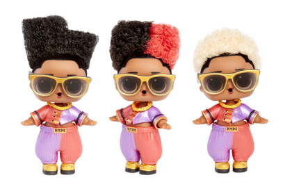 L.O.L. Surprise! #Hairvibes Dolls with 15 Surprises & Mix & Match Hairpieces