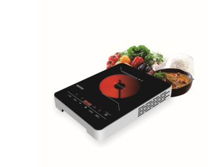 2000W Infrared Cooker | Electric Infrared Glass Ceramic Cooker | Digital LED Display | 8 Power Levels