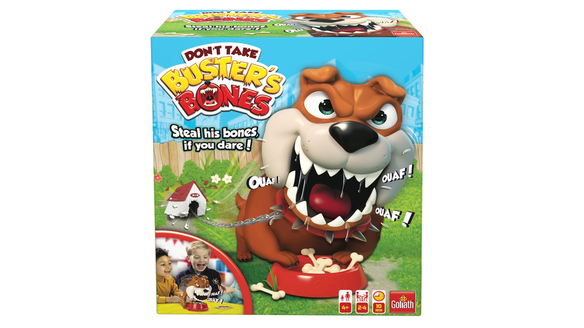 Mad Dog Game by Goliath - Steal His Bones If You Dare - But Don't Wake Him Up