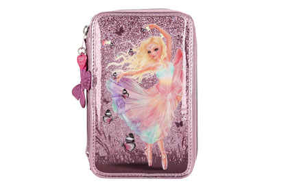 TOPModel Filled Pencil Case Triple Ballet