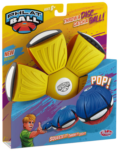 Goliath Phlat Ball V4-YELLOW/ORANGE