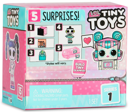 LOL Surprise! Tiny Toys Full Series 1-18 Pack Build a little glamor