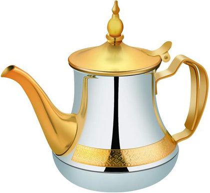 Royalford RF9585 Stainless Steel Tea Pot, 0.8L