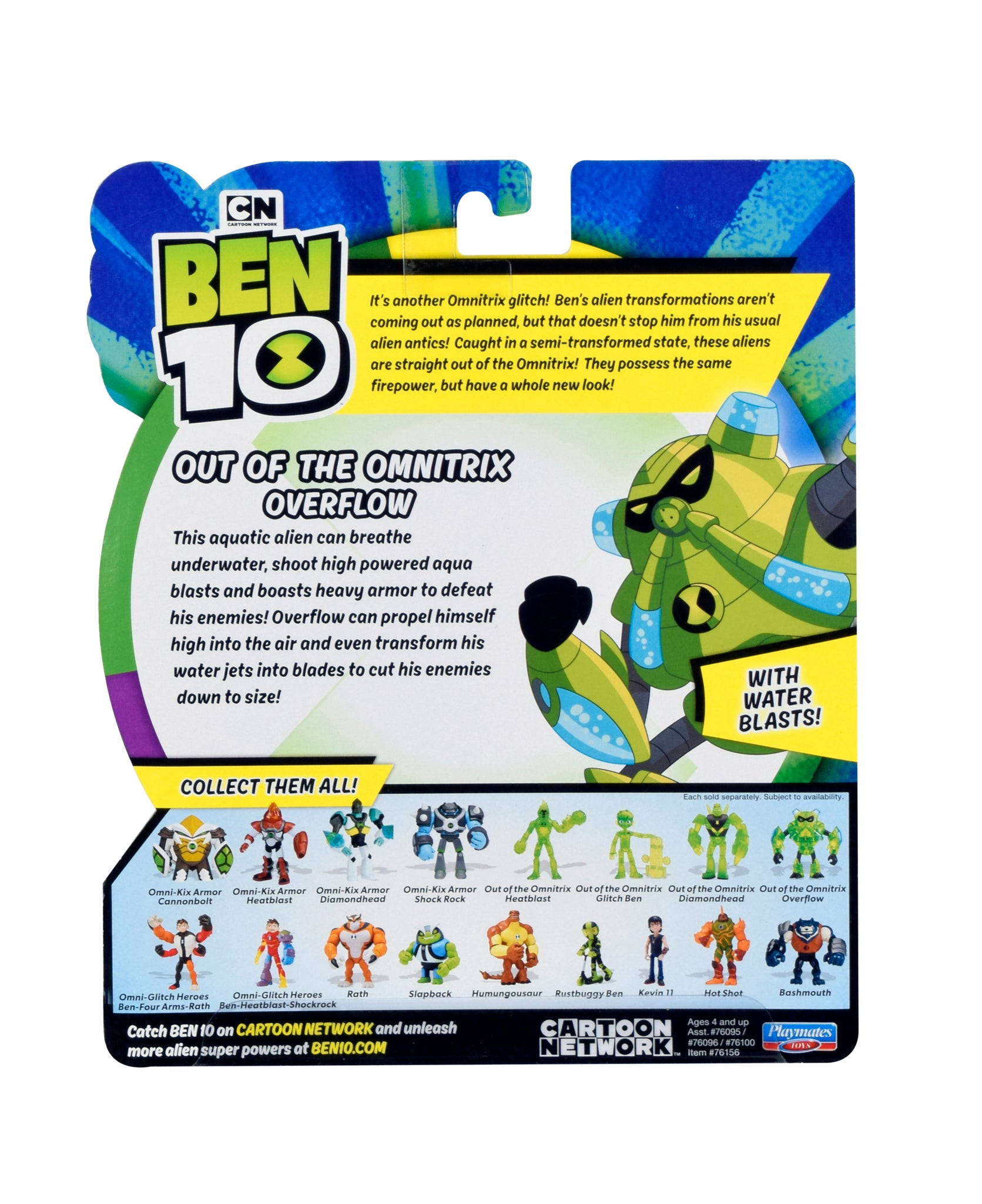 Ben10 Deluxe Figure_Out of The omnitrix overflow