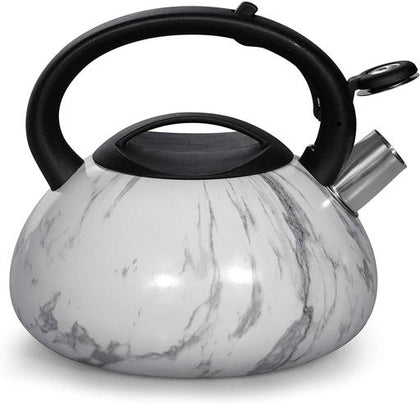 3.0L SS Marb.Design Whistling kettle1X12
