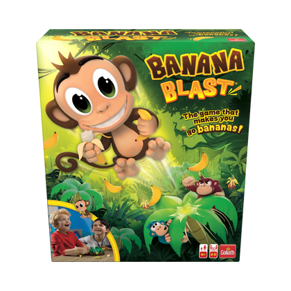 Banana Blast - Pull The Bananas Until The Monkey Jumps Game