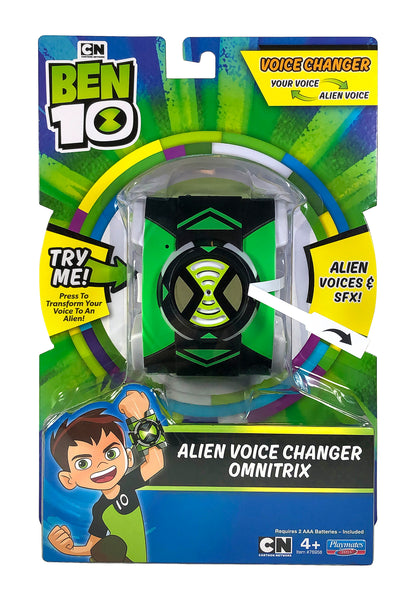 Ben 10 New Alien Voice Morpher Omnitri