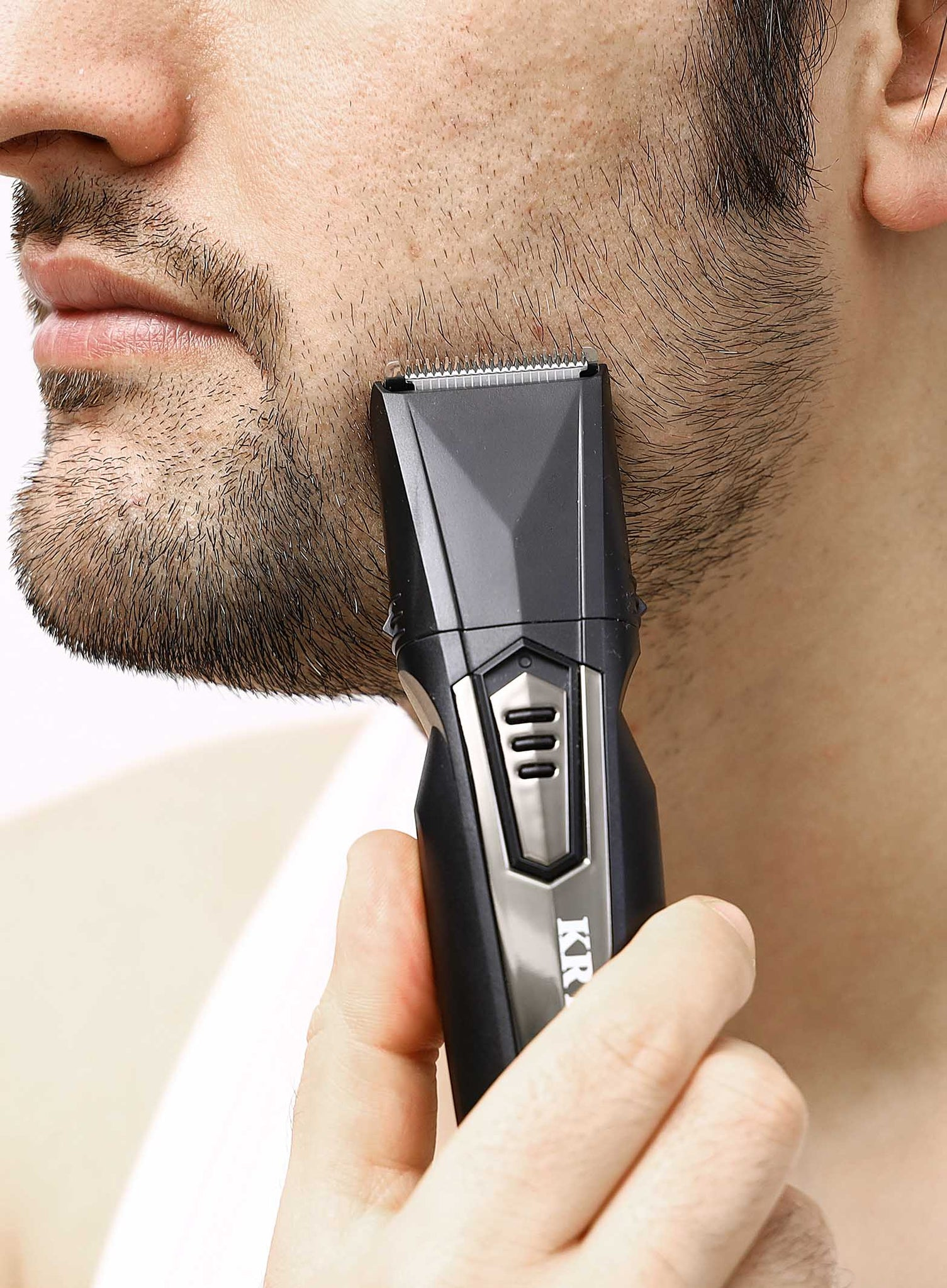 Rechargeable 10 IN 1 Grooming Kit - Shaver & SideburnTrimmer - Men's Shaver - Travel Portable Shaver Kit - 45 Minutes Working Time - Hair Clipper & Beard Trimmer Kit