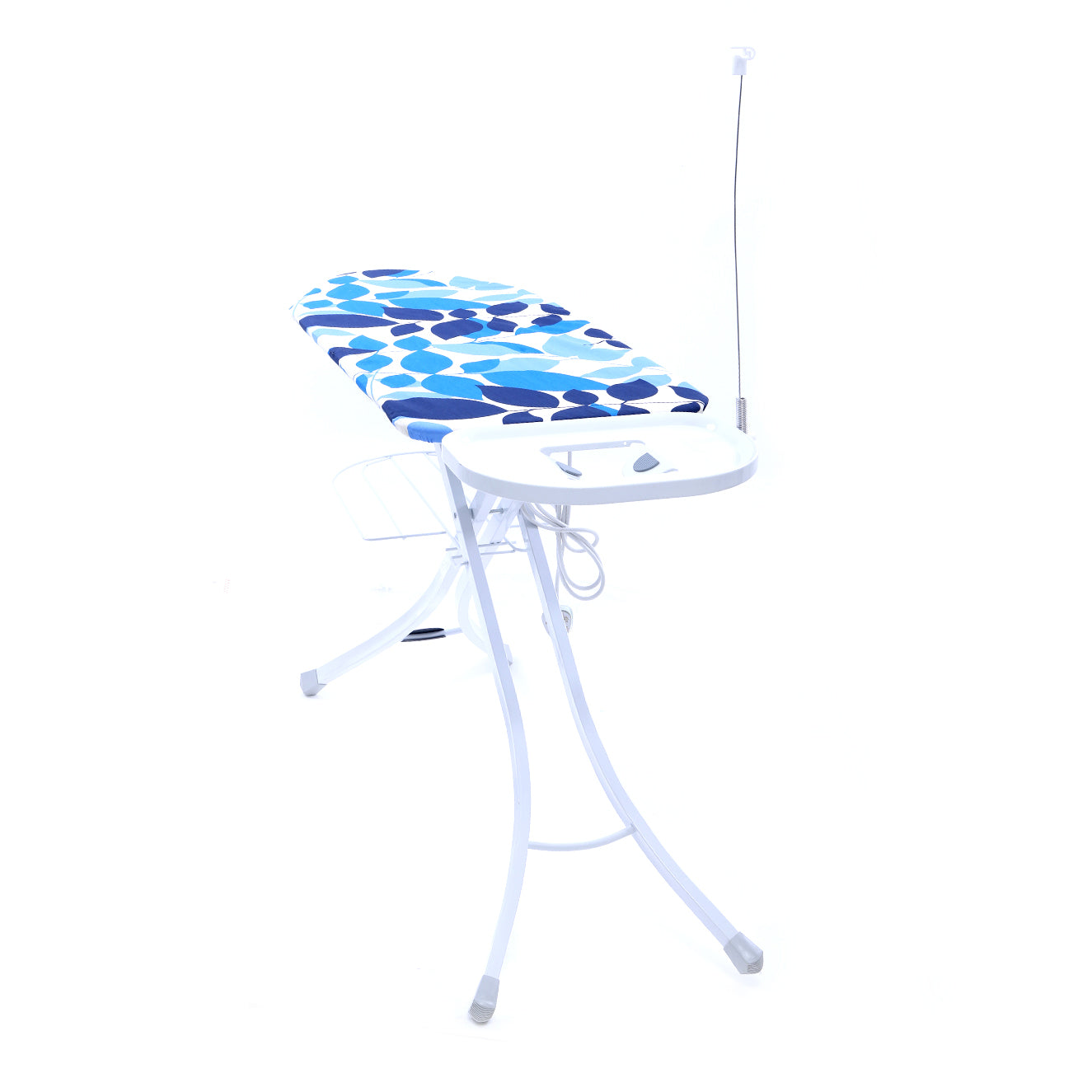 Royalford RF1965IB Mesh Ironing Board with Socket, 127x46 CM