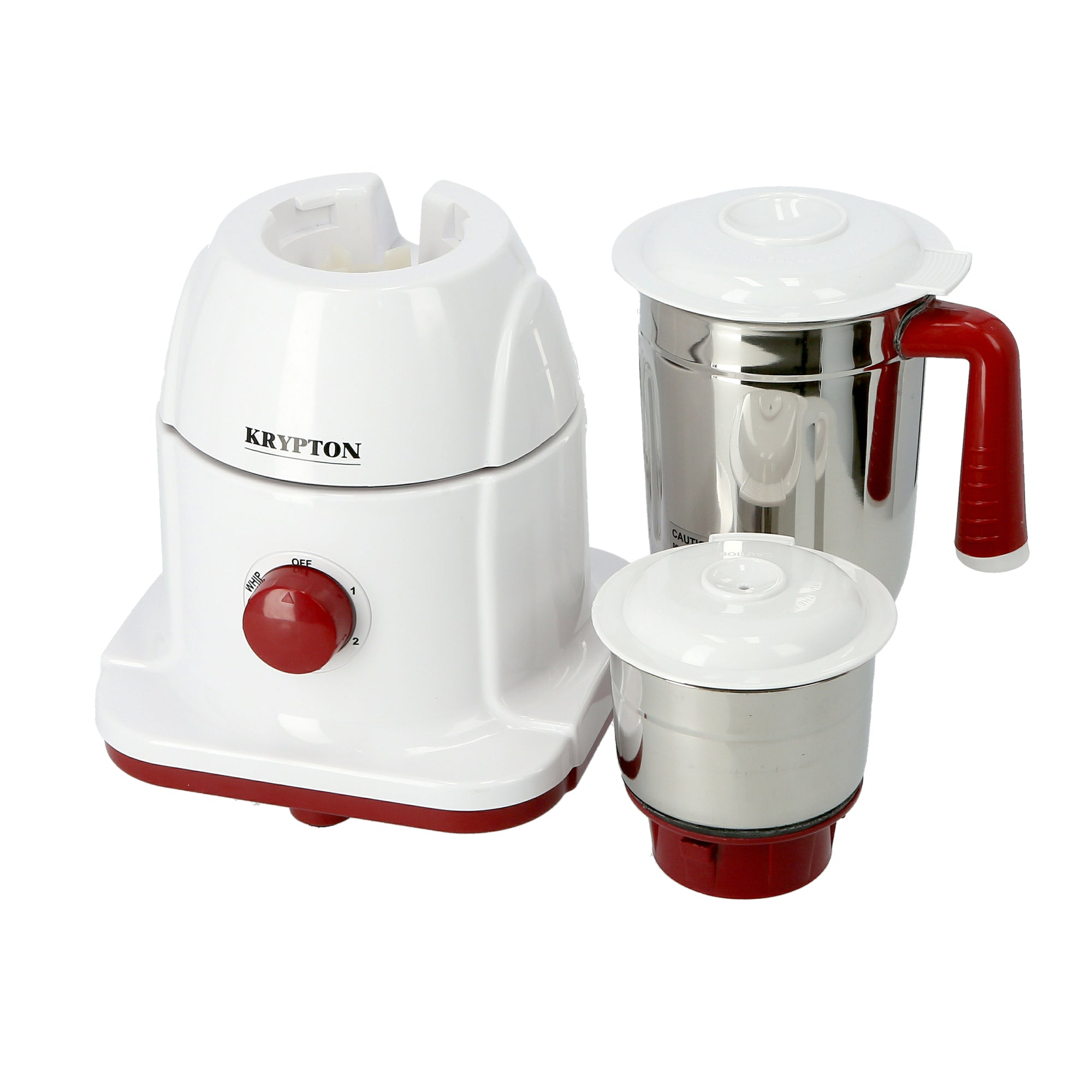 550W Powerful Mixer Grinder, 2 in 1 with 2 Jars | Powerful Copper Motor | with Double Oil Seal| Heavy Duty