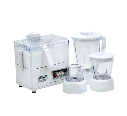 Multifunctional 4 in 1 Juicer and Food Processor, Blender, Chopper & Grinder with 1.6L Jar, 2 Speed Pulse Function