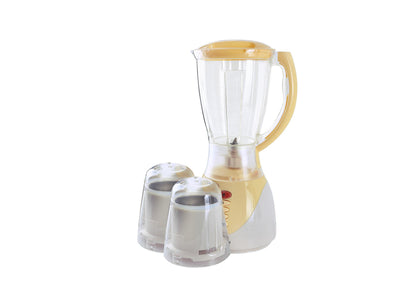 300W, 3 in 1 Blender,1.5 ltr Blender Jar with Grinder Cups|Over Heat Protection | Heavy Duty