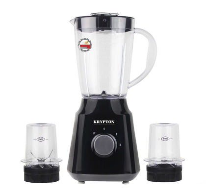 300W, 3 in 1 Blender,1.5L Unbreakable Blender Jar with Grinder Cups| Coffee Grinder Jar | Heavy Duty