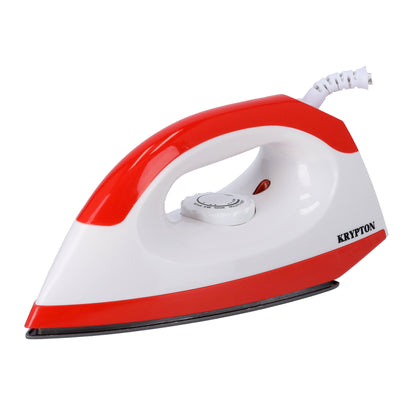 1200W Dry Iron for Perfectly Crisp Ironed Clothes | Non-Stick Soleplate & Adjustable Thermostat Control | Indicator Light - 1 Years Warranty