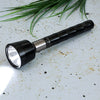 Rechargeable LED Flashlight - High Power Flashlight Super Bright CREE LED Torch Light - Built-in 4000Mah Battery - Powerful Torch for Camping Hiking Trekking