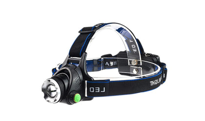 High Power Zoomable Super Brright Headlamp 10W T6 LED Headlamps Bicycle Camping Head Torch Light led Head Lamp| 1500Mah
