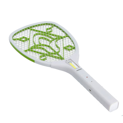 Rechargeable Mosquito Swatter | USB Power | Long Life | Long Duration | 3W Hi-Power COB Light