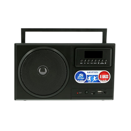 Rechargeable Radio | BT/USB/SD/BT | Excellent Sound Quality | Lightweight Portable FM Radio | 8 Bands Radio | Stylish Retro Design