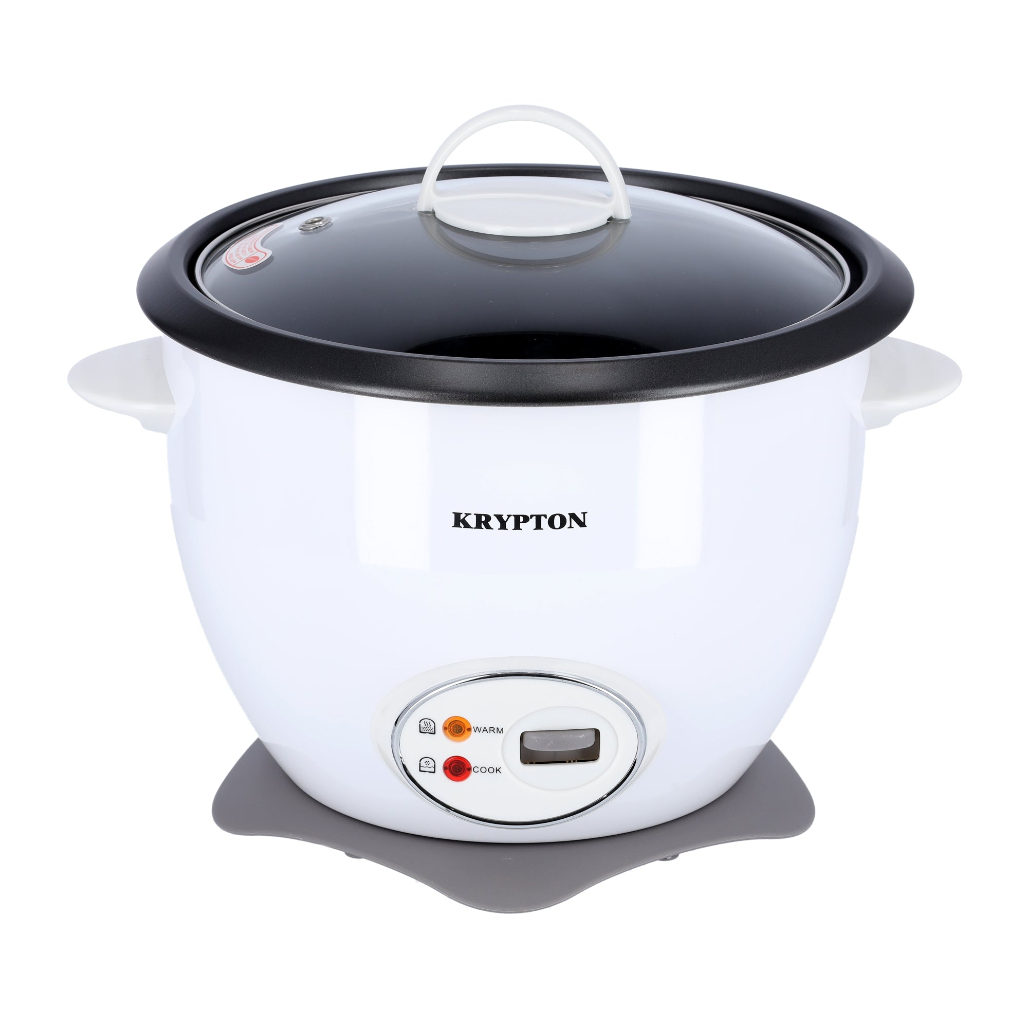 700W 1.8 L Rice Cooker with Steamer | Non-Stick Inner Pot, Automatic Cooking, Easy Cleaning, High-Temperature Protection - Make Rice & Steam Healthy Food & Vegetables
