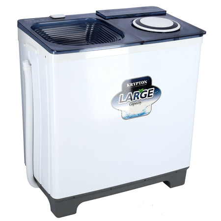 KNSW6186 9.8 Kg Semi - Automatic - High Efficient Top Loading Washing Machine - Heavy Duty - Classic Design with Durable Body
