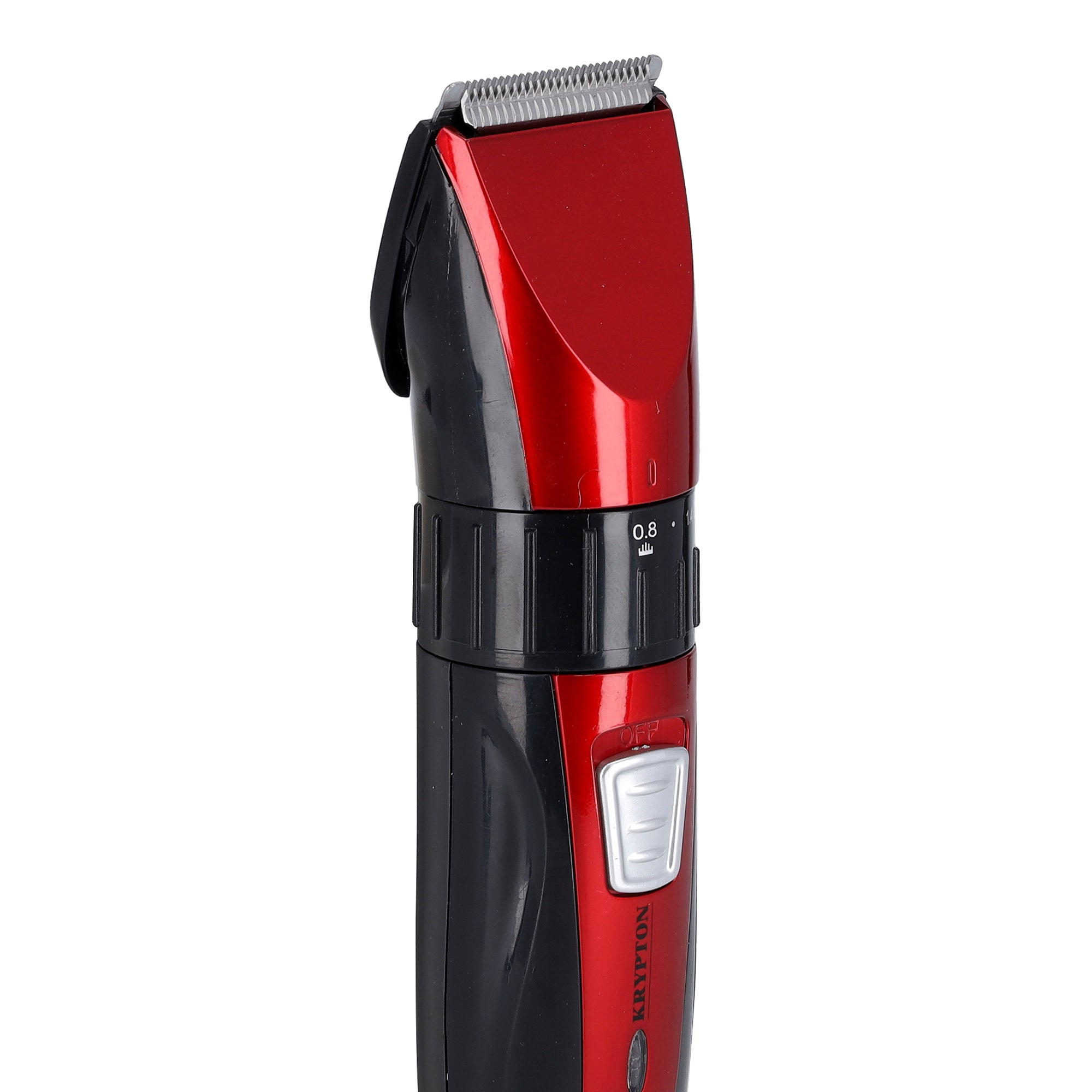 Rechargeable Hair Trimmer - Precise Beard Styler with Fine Steel Head | Indicator Lights, Cordless Trimmer, 45 Minutes Working in Single Charge