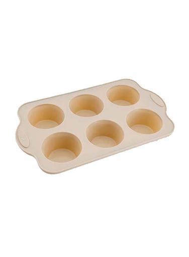 Royalford RF9801 Premium Non-Stick Muffin Tray, 6 Cup – Cupcake Tray/Baking Pan – Steel Build Frame, Silicone Mince Pie/Cupcake Tin – Ideal for Cupcakes Muffin Pie Yorkshire Pudding Baking