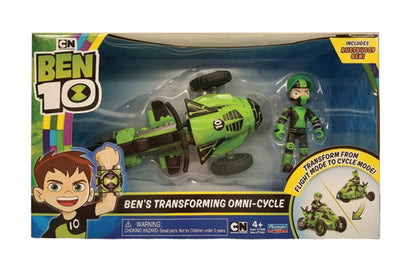 Ben10 Transforming Vehicle with Figure