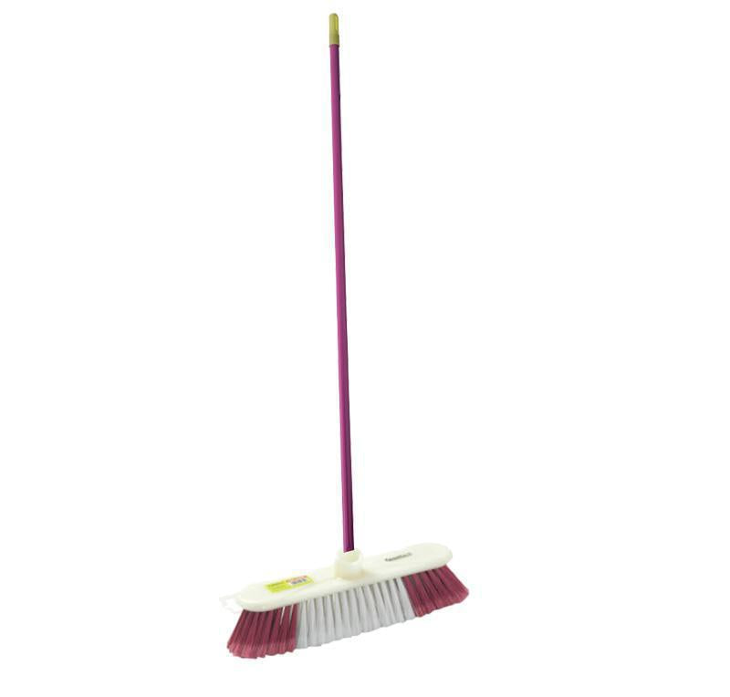 Floor Broom/Blue+Grey 1X24