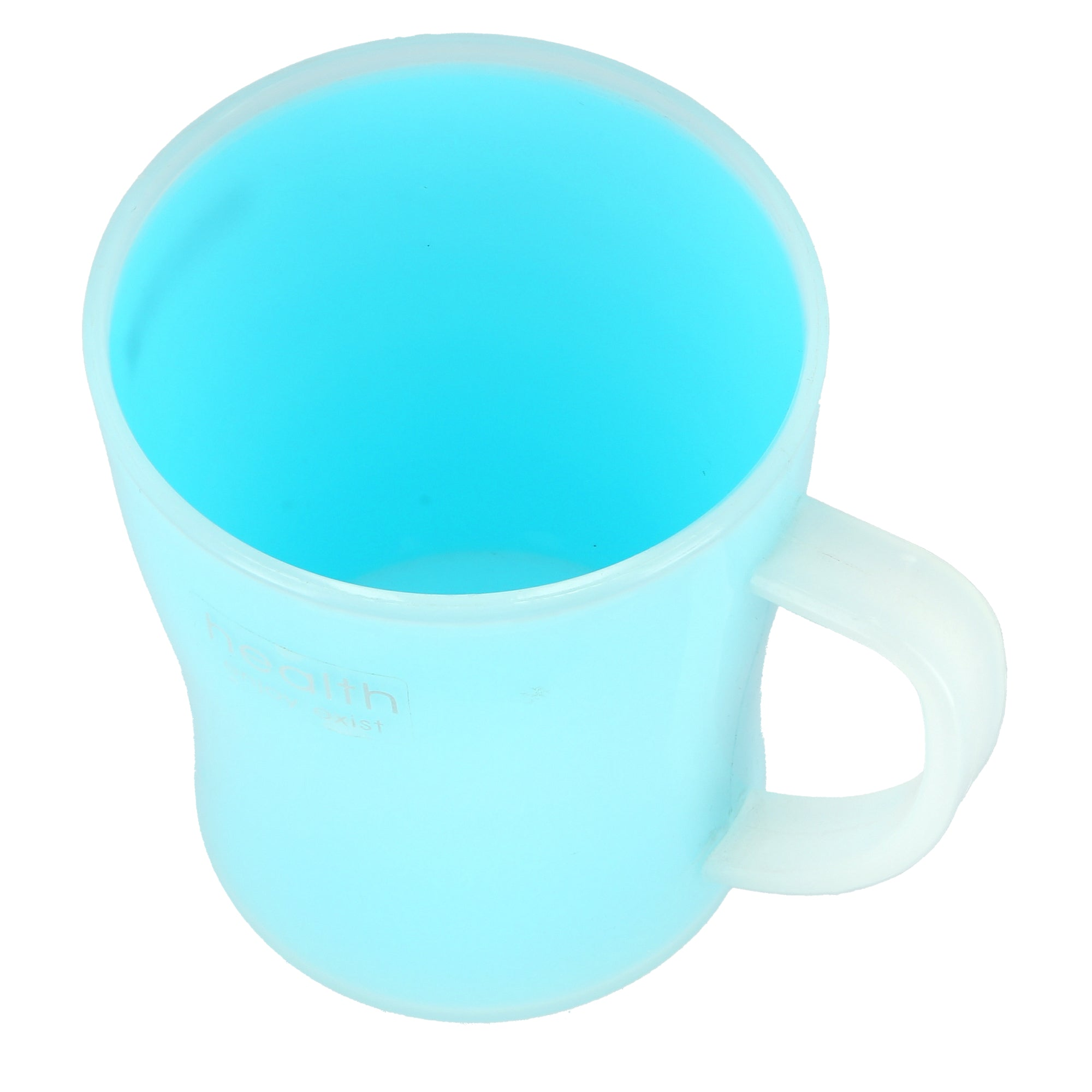 Royalford RF4559 Porcelain Cup - Portable with Comfortable Handle | Large Coffee & Tea Mug, Traditional Extra Large Tea Mug, Thick Wall Portable Mug |Comfortable Handle | Ideal for Hot & Cold Drinks (Green)