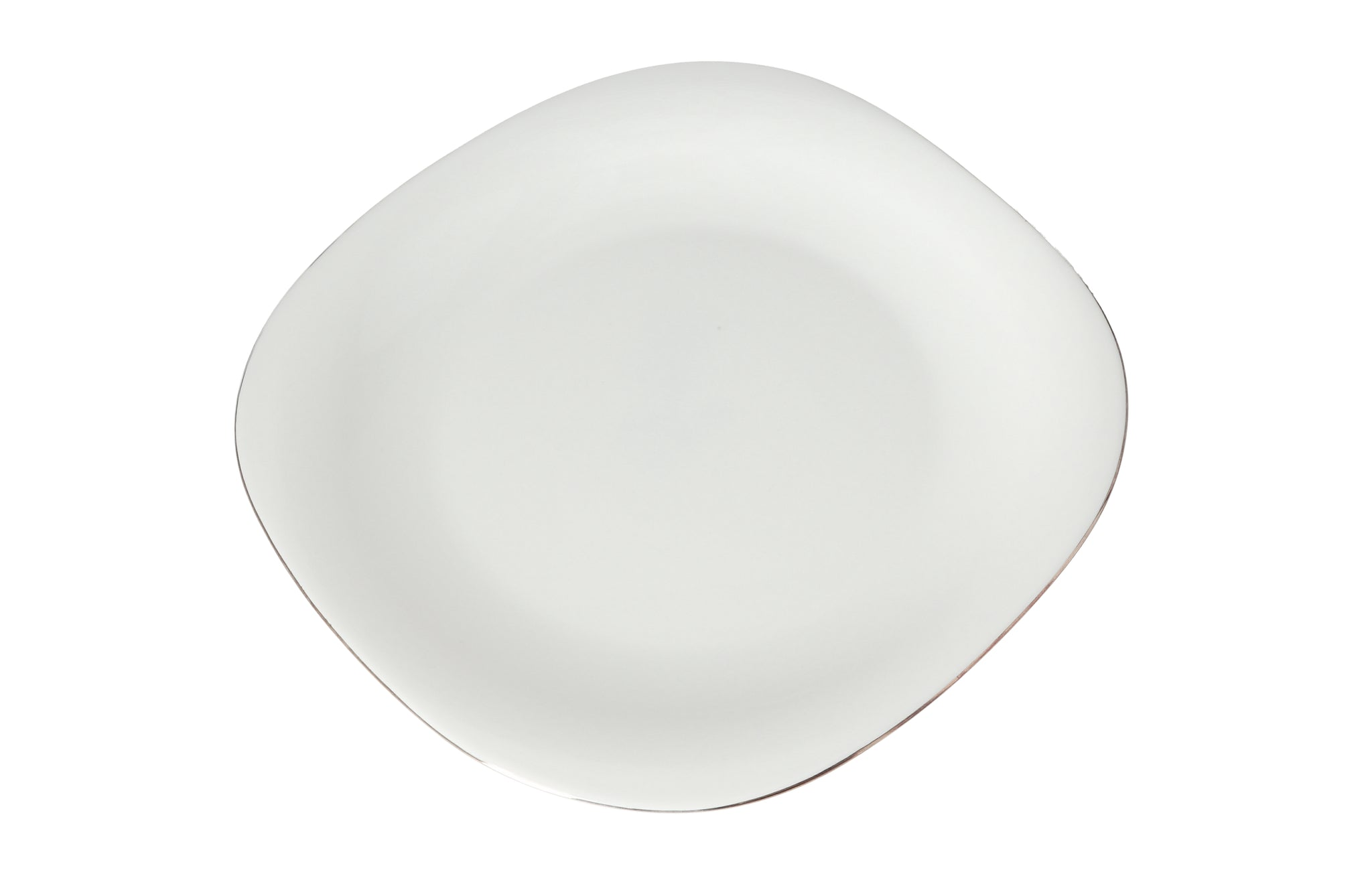 Royalford RF7872 Opal Imperial Gold Serving Plate, 11.5 Inch