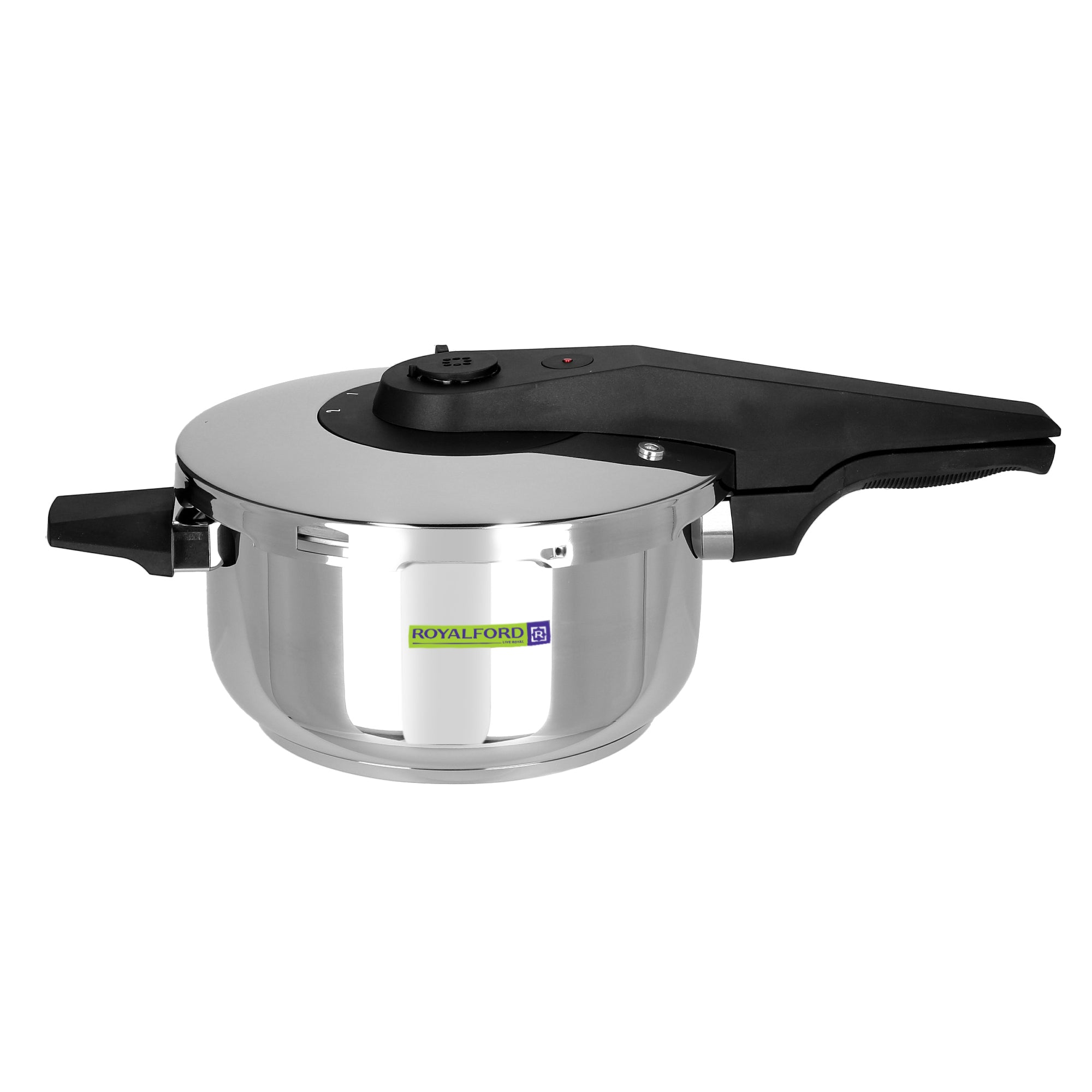 Royalford RF8603 Asan Induction Pressure Cooker, 4L