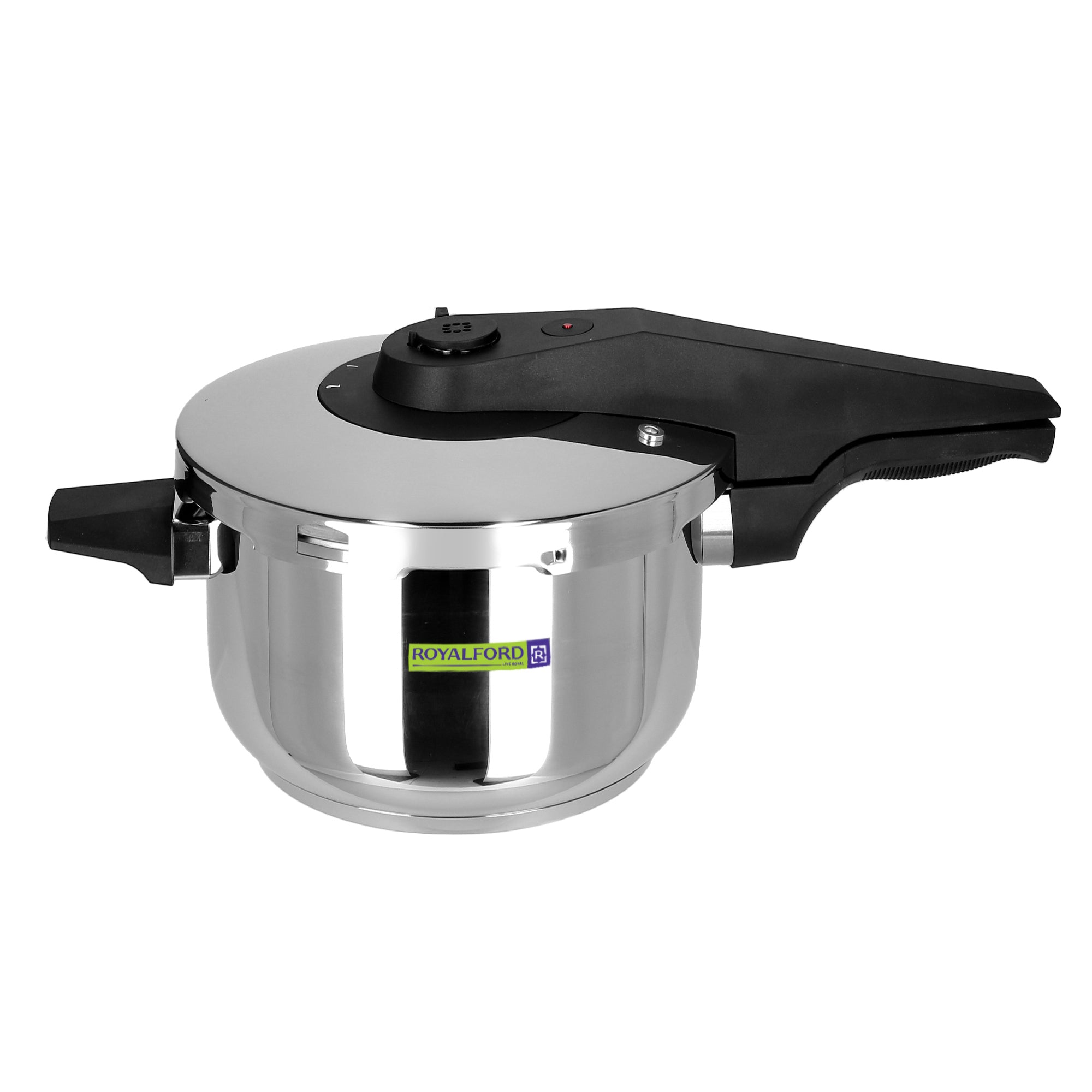 Royalford RF8605 Asan Induction Pressure Cooker, 7L
