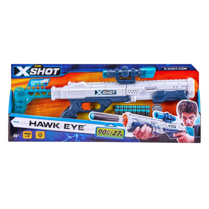 X-SHOT -Excel-Hawk Eye  (16Darts)