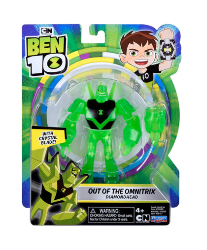 Ben10 Deluxe Figure_Out of The omnitrix Diamond Head