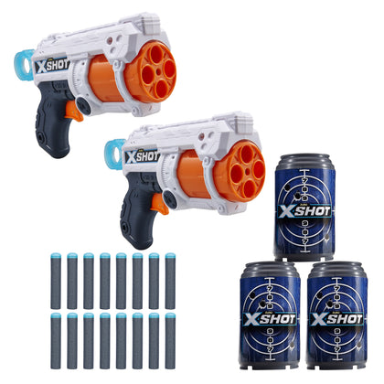 XShot Dino Attack Dino Striker Foam Dart Blaster (16 Darts, 4 Eggs) by ZURU