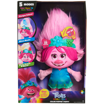 Trolls World Tour Color Poppin Poppy