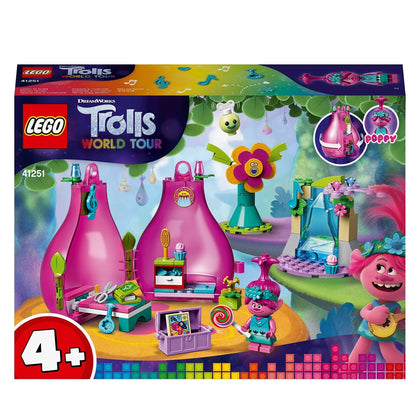 LEGO Trolls World Tour Poppy Pod 41251 Trolls Playhouse building kit with Poppy Troll Minifigure, new 2020 (103 pieces)