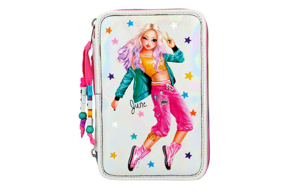 TOPModel Filled Pencil Case Triple Dance