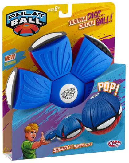 Goliath Phlat Ball V4-BLUE/RED