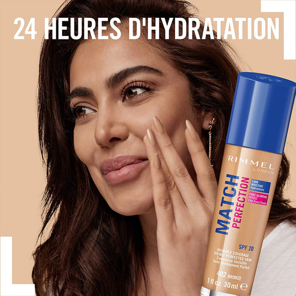 FOND DE TEINT MATCH PERFECTION SPF 20