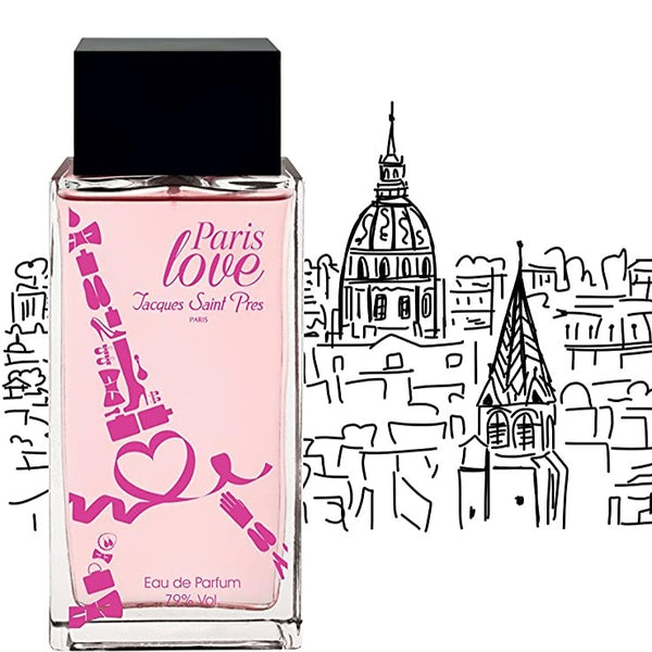 EAU DE TOILETTE PARIS LOVE